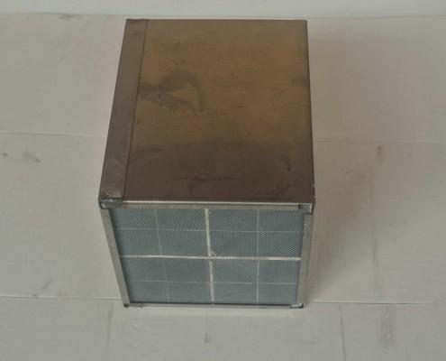 bloc filtre à particules - gros plan