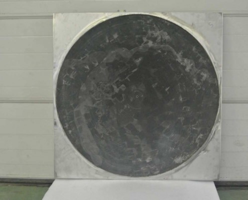 catalyseur diametre 1150 mm – vue de face