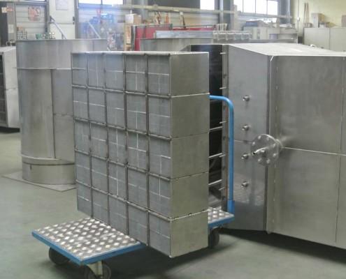 filtre à particules en module de 25 blocs