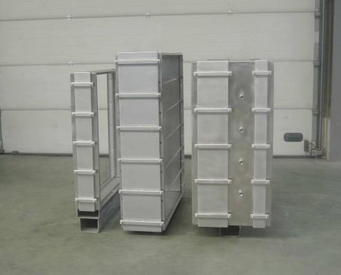 rack pour blocs filtre à particules